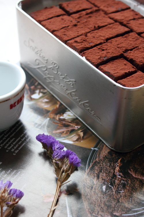 自制生巧克力成品图