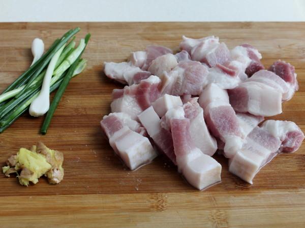 豆腐果炖五花肉的做法图解