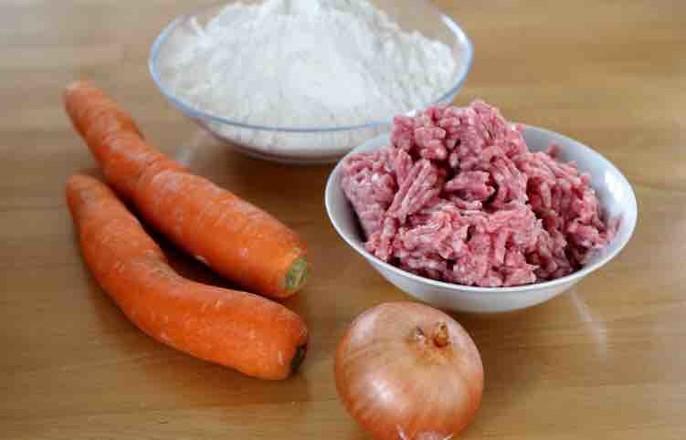 胡萝卜牛肉蒸饺的做法大全