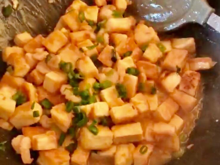虾仁豆腐怎么煮