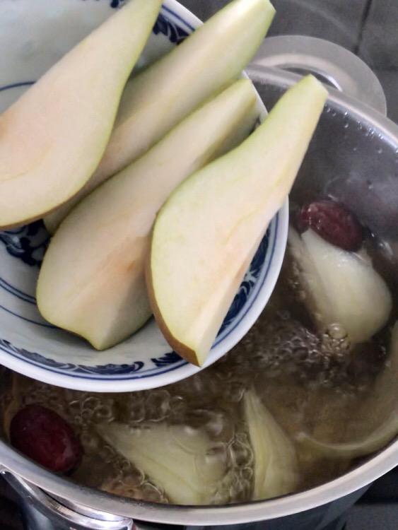 生姜梨糖水的简单做法