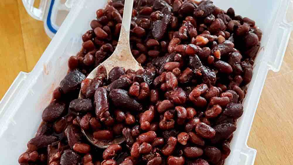蜜红豆的简单做法