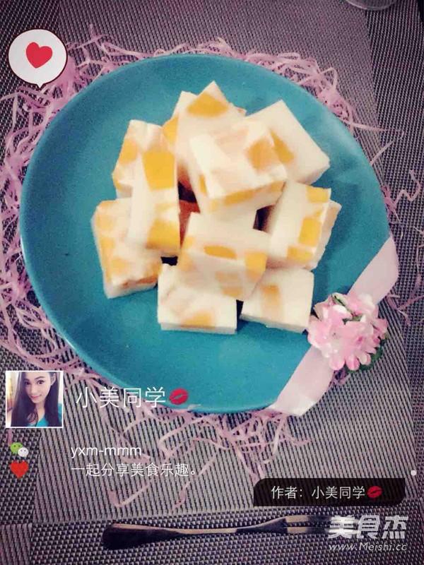 芒果椰汁糕怎么吃