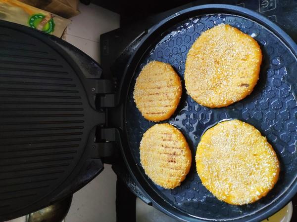 香酥糯南瓜饼的家常做法