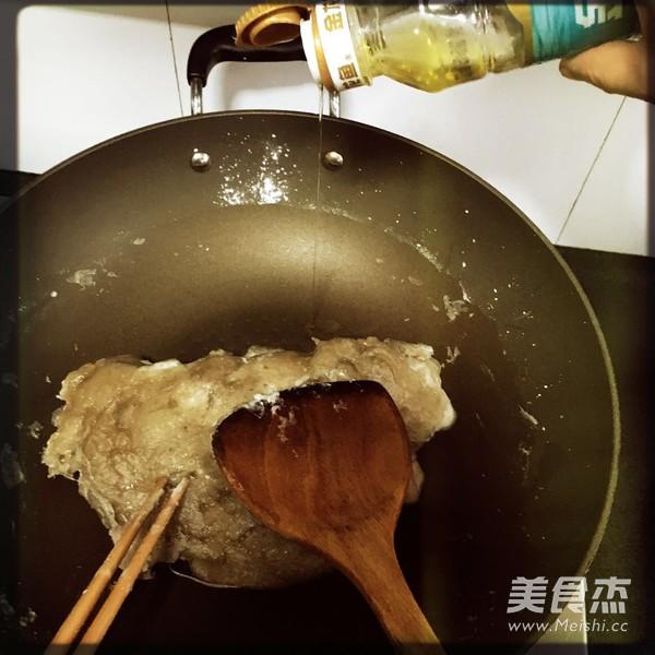 红薯粉炒肉怎么做
