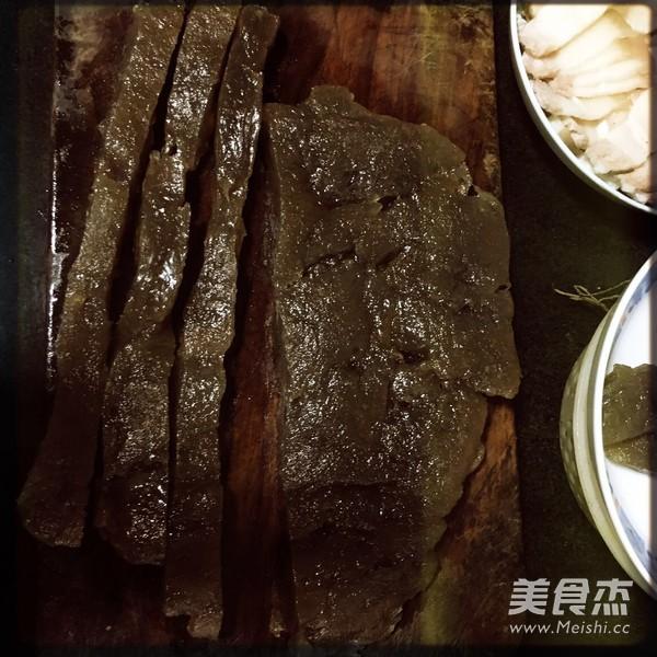 红薯粉炒肉怎么煮