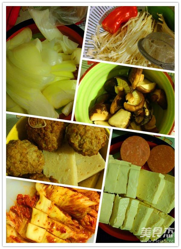 泡菜杂烩锅的做法图解