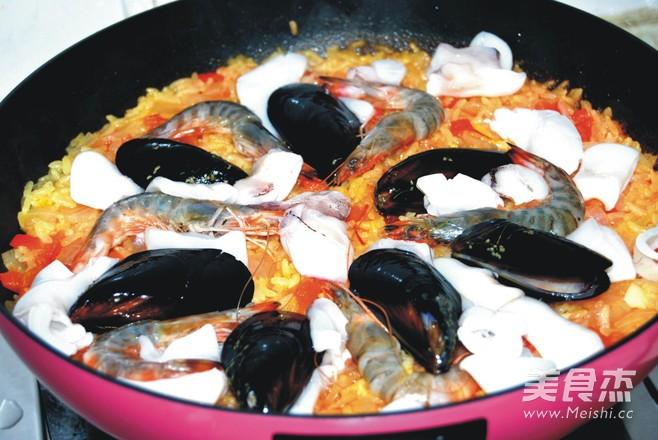 西班牙海鲜饭怎么煮