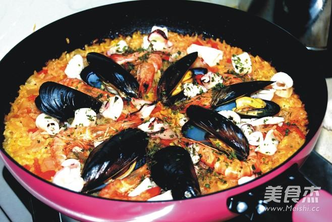 西班牙海鲜饭怎么炖