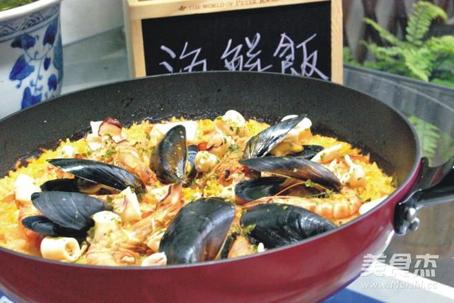 西班牙海鲜饭怎么煸