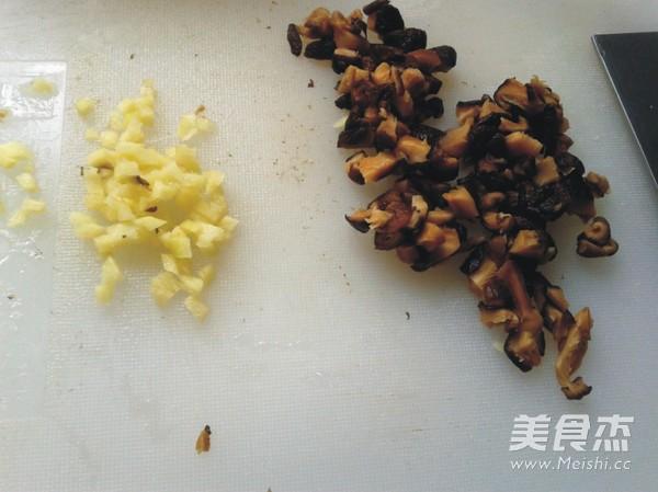 虫草花蒸香菇狮子头的做法图解