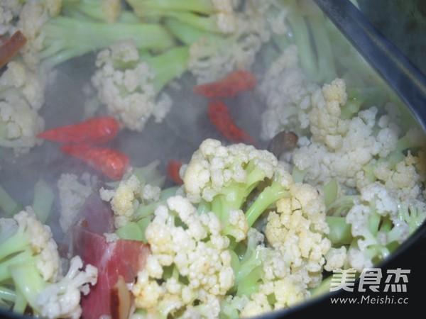 腊肉炒有机花菜怎么吃