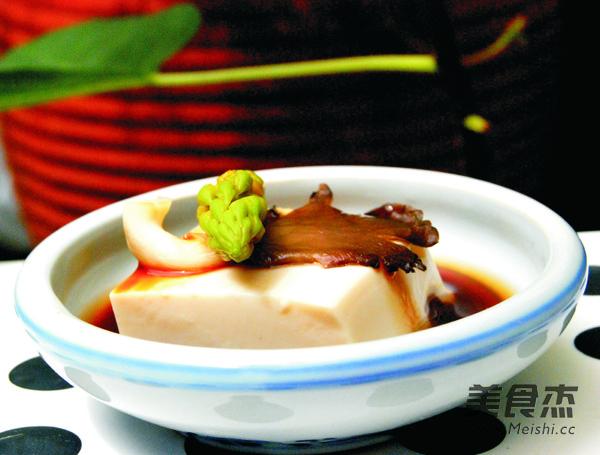 凉拌菌菇豆腐怎么炖