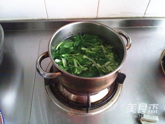 小白菜氽丸子怎么煮