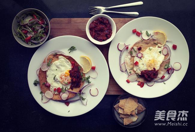 杂粮脆饼早餐的家常做法