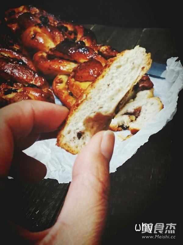 半全麦辫子面包怎样炒