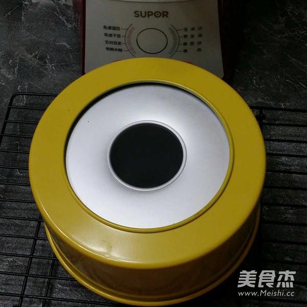 苏泊尔·真磨醇浆机豆浆戚风蛋糕的制作方法