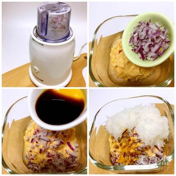 白萝卜猪肉饼的简单做法