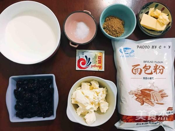蔓越莓乳酪软欧包的做法大全