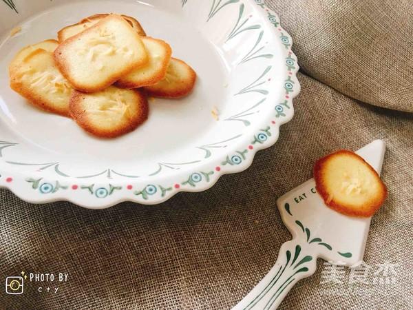 椰条瓦片酥的步骤