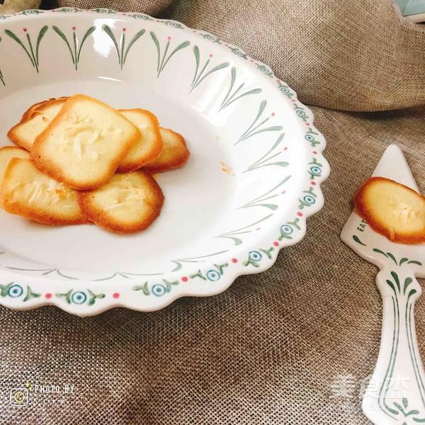 椰条瓦片酥成品图