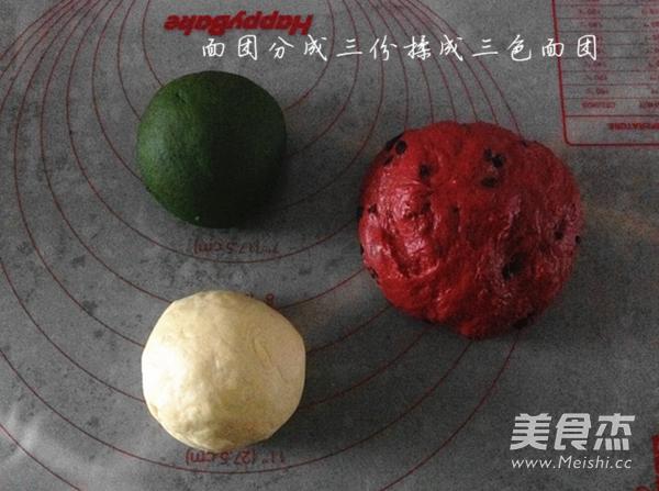西瓜吐司的做法图解