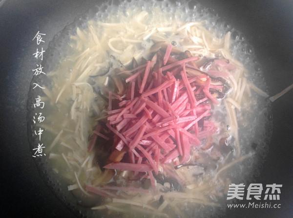 秦淮煮干丝的简单做法