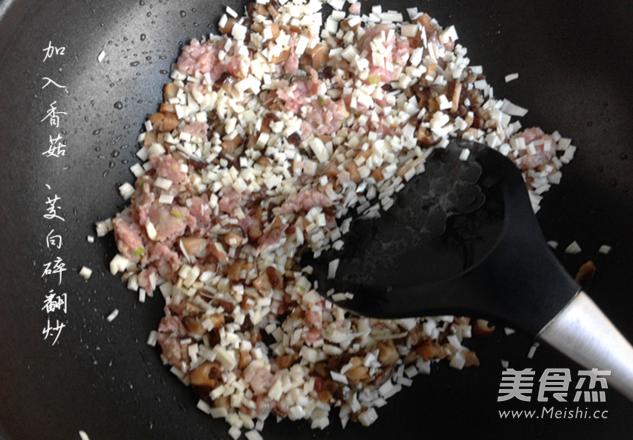 香菇肉酱的家常做法