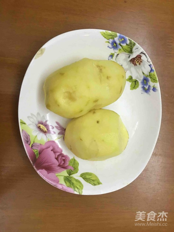 红腐乳焖土豆怎么吃