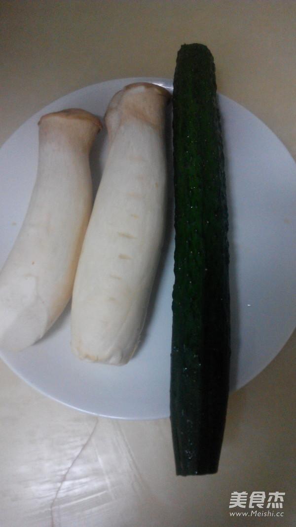 杏鲍菇拌黄瓜的做法大全