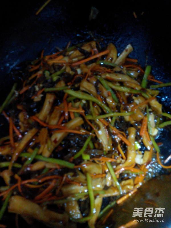 鱼香杏鲍菇的步骤