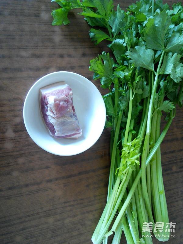 芹菜炒肉的做法大全