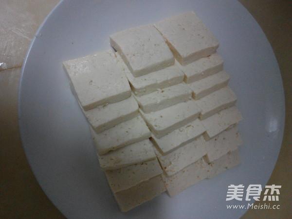 蚝油肉丝豆腐的做法图解