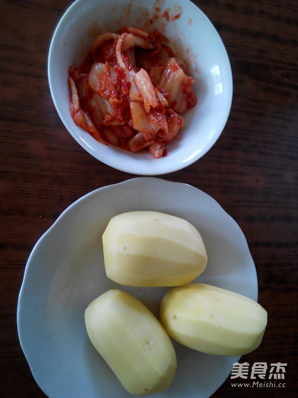 辣白菜炒土豆片的做法大全