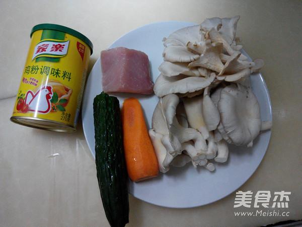 鲜蘑肉片的做法大全