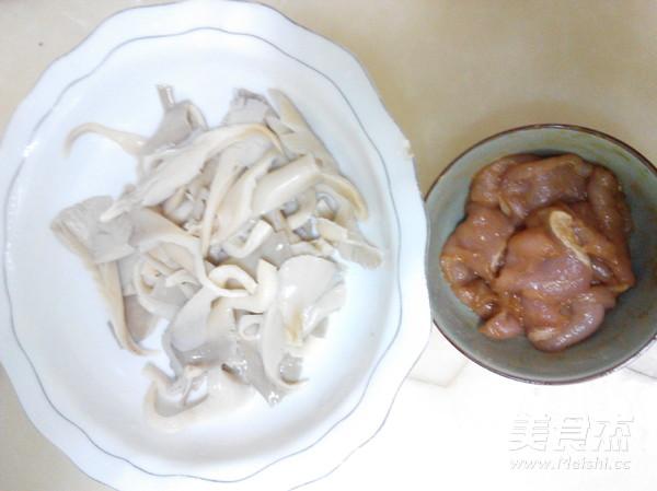 鲜蘑肉片怎么吃