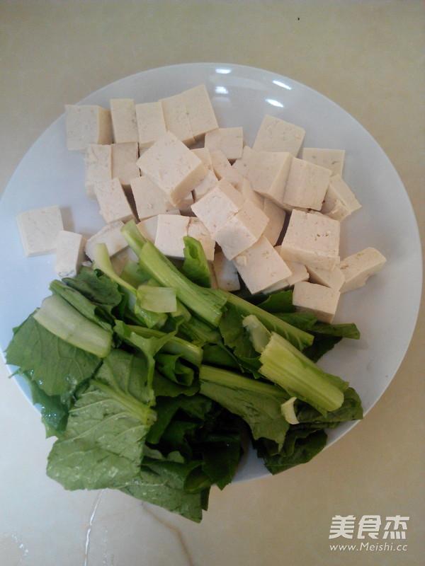 小白菜豆腐汤的做法图解