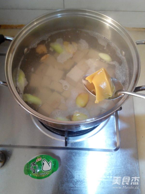 小白菜豆腐汤怎么吃