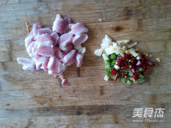 肉片炒黄豆芽的做法图解