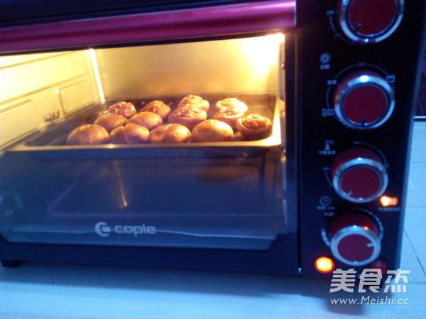 烤肉末香菇怎么吃