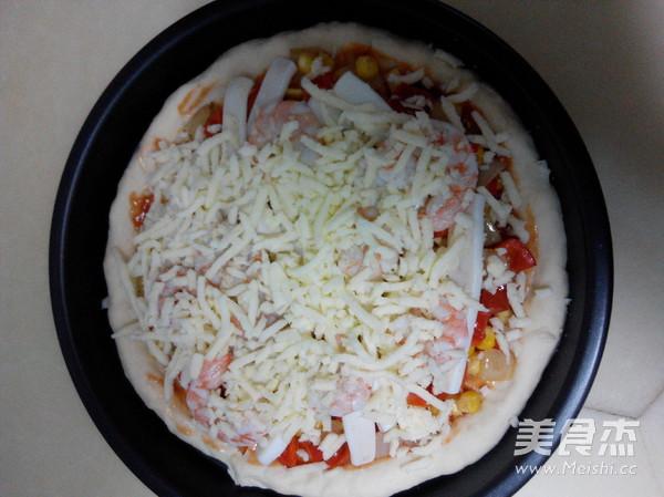 海鲜披萨怎样煸