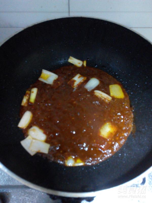蒜蓉辣酱烧明太鱼的家常做法