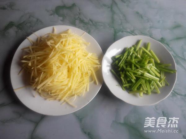 芹菜炒土豆丝的做法图解