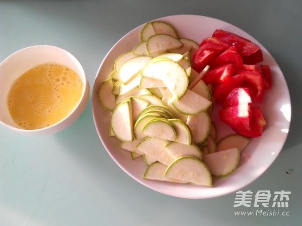 西葫芦番茄炒蛋的做法图解