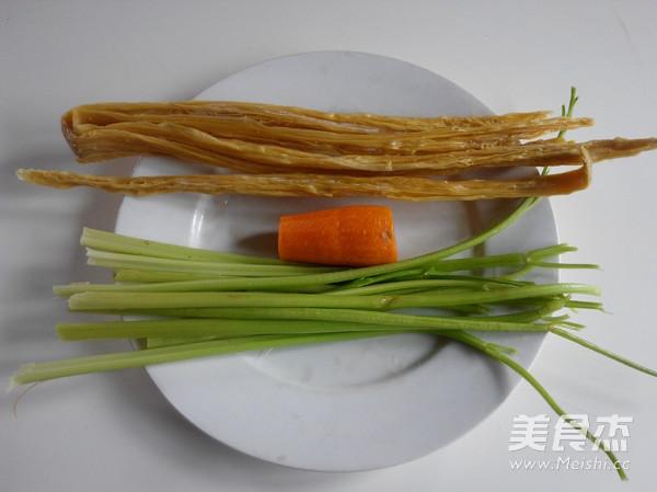 腐竹拌芹菜的做法大全