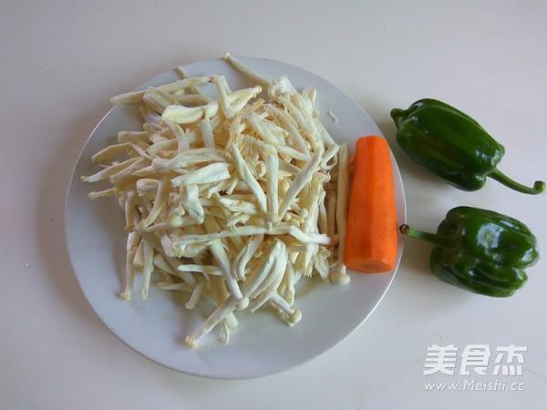 素炒海鲜菇的做法大全