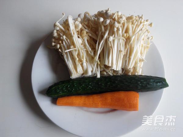 素炒金针菇的做法大全