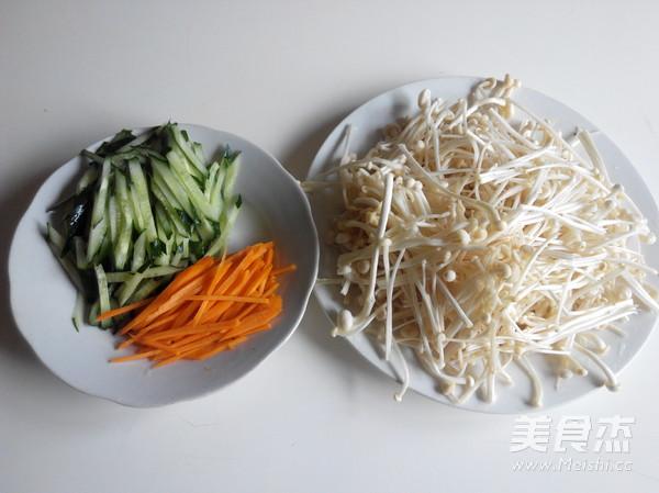 素炒金针菇的做法图解
