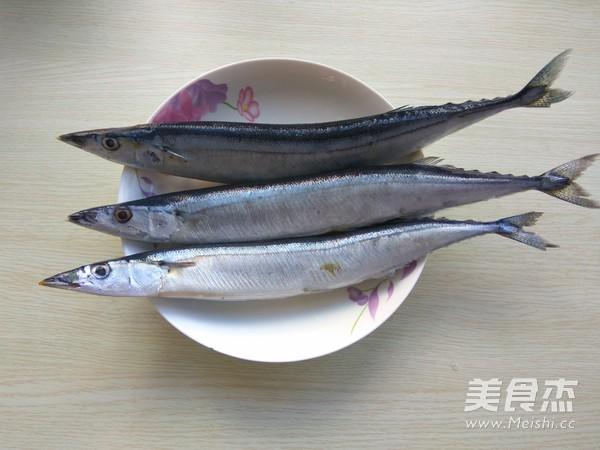 香煎秋刀鱼的做法大全