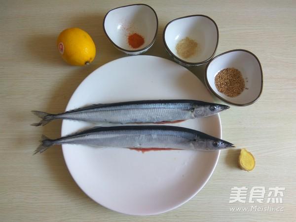 烤秋刀鱼的做法大全